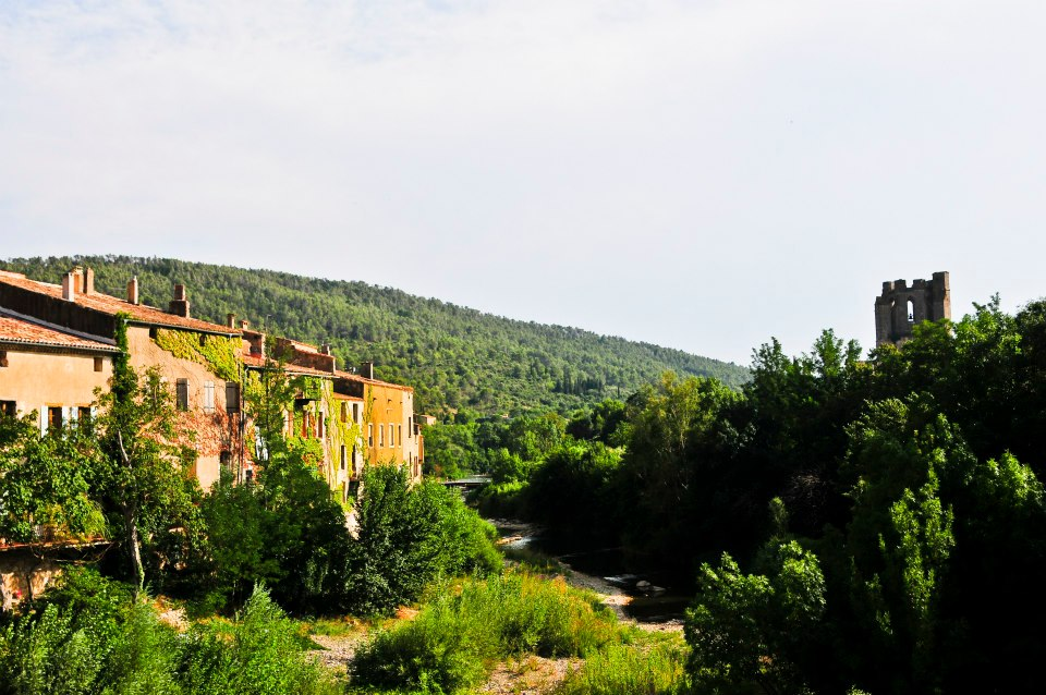 View of Lagrasse